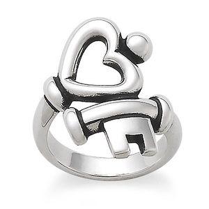 James Avery / Key to my Heart Ring